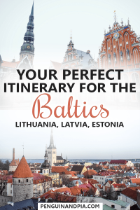 Itinerary for Travelling the Baltics