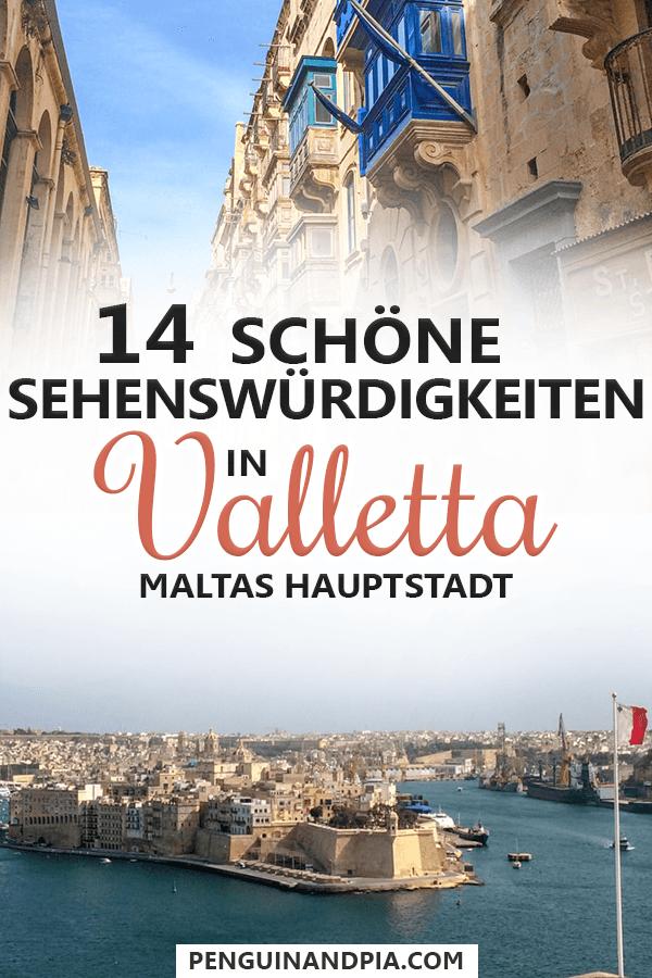 Sehenswürdigkeiten in Valletta, Malta