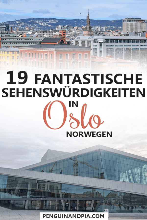 Sehenswürdigkeiten in Oslo, Norwegen