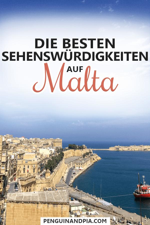 Sehenswürdigkeiten auf Malta