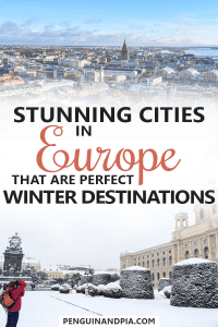 Stunning Cities in Europe to visit in Winter