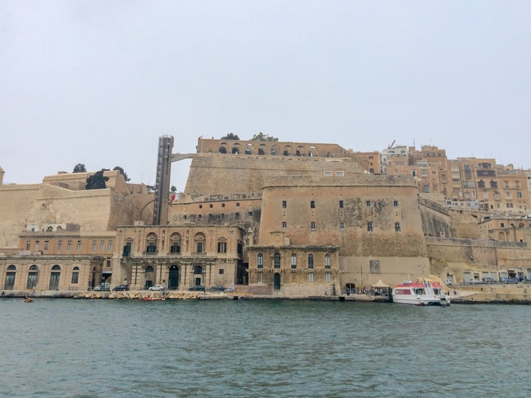 upper gardens and city walls with harbour below things to do in valletta upper barrakka
