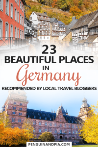 23 Beautiful Places in Germany