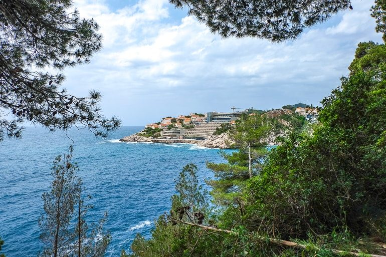 seaside resort tucked into rocky coast where to stay in dubrovnik cheap hotels