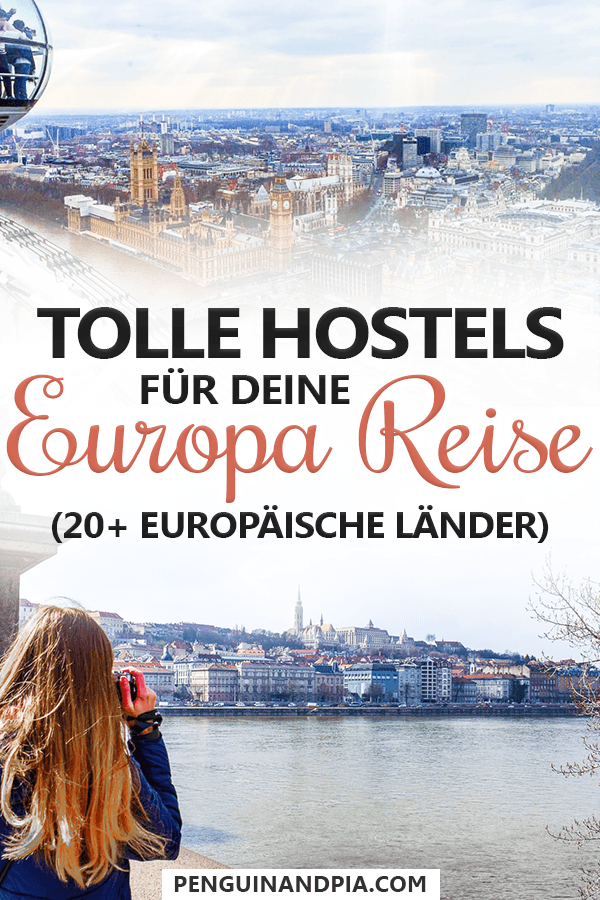 Tolle Hostels in Europa