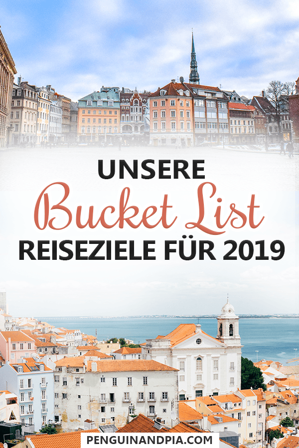 Bucket List Reiseziele