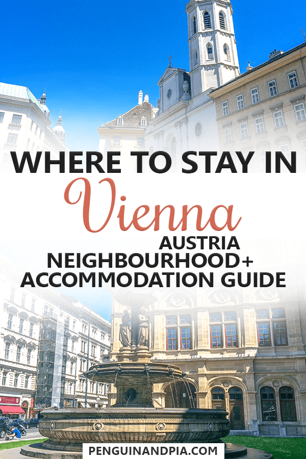 Where to stay in Vienna, Austria