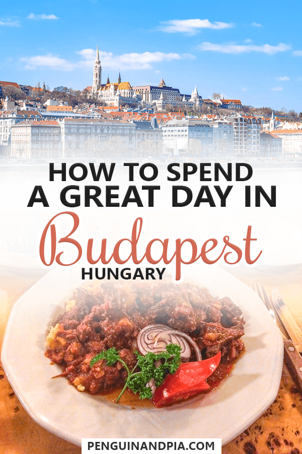 How to spend one day in Budapest