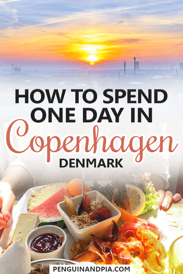 One day in Copenhagen, Denmark