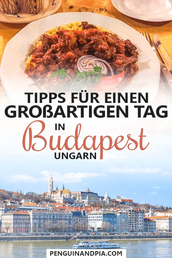 Tipps für Budapest an einem Tag