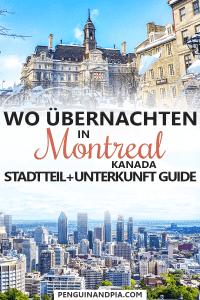 Unterkunft- und Stadtteil-Guide für Montreal, Kanada