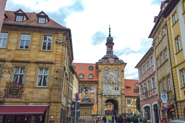 old town germany with colourful buildings bamberg