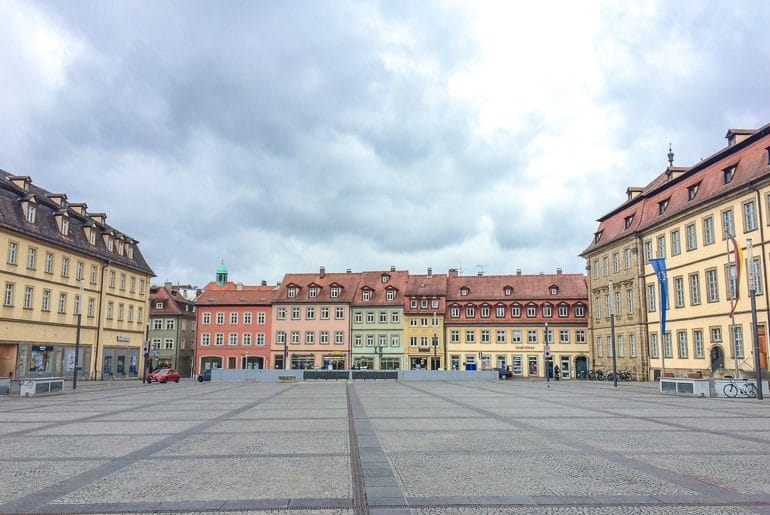 open square in german old town things to do bamberg