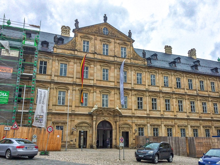 nice old residence building bamberg germany