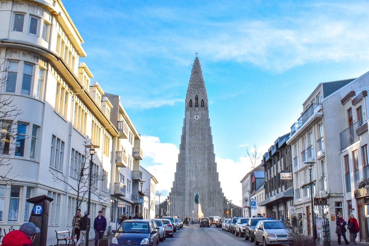 tall church in city centre iceland where to stay reykjavik