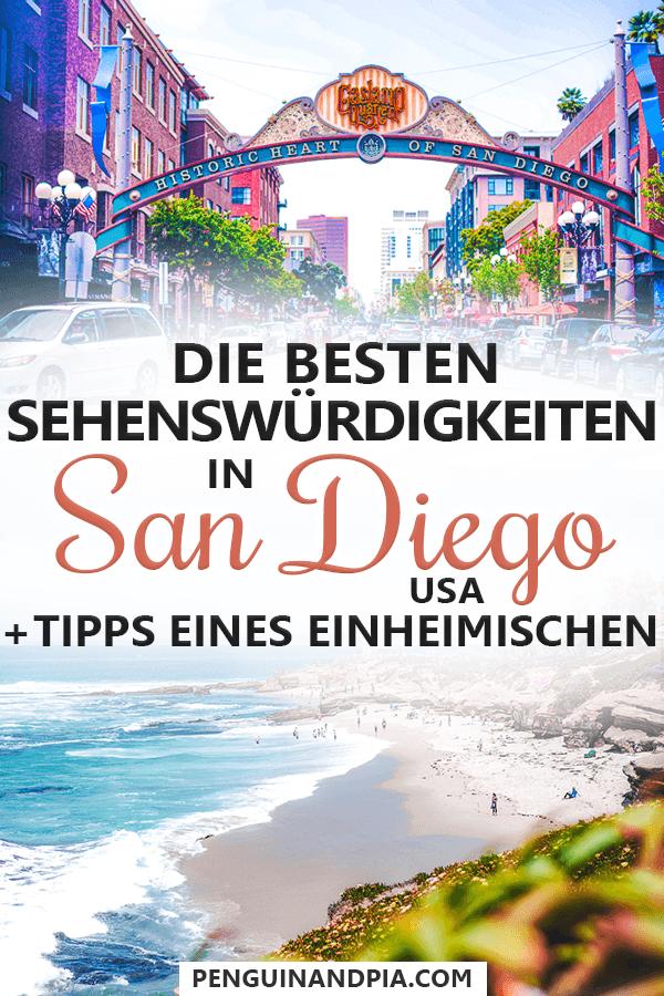 Sehenswürdigkeiten in San Diego, USA