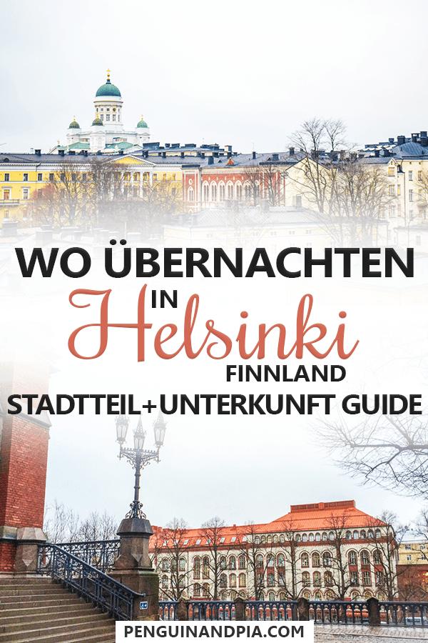 Wo übernachten in Helsinki