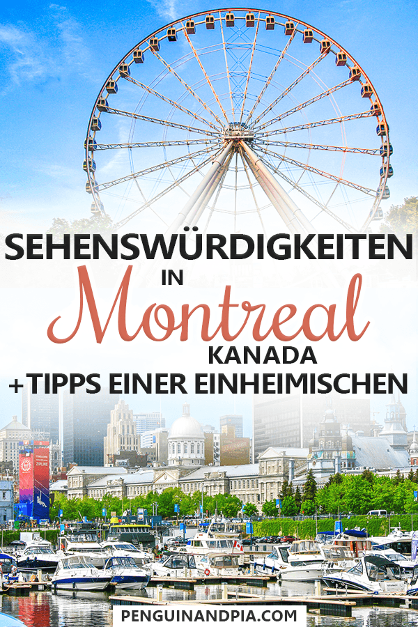 Sehenswürdigkeiten in Montreal Kanada