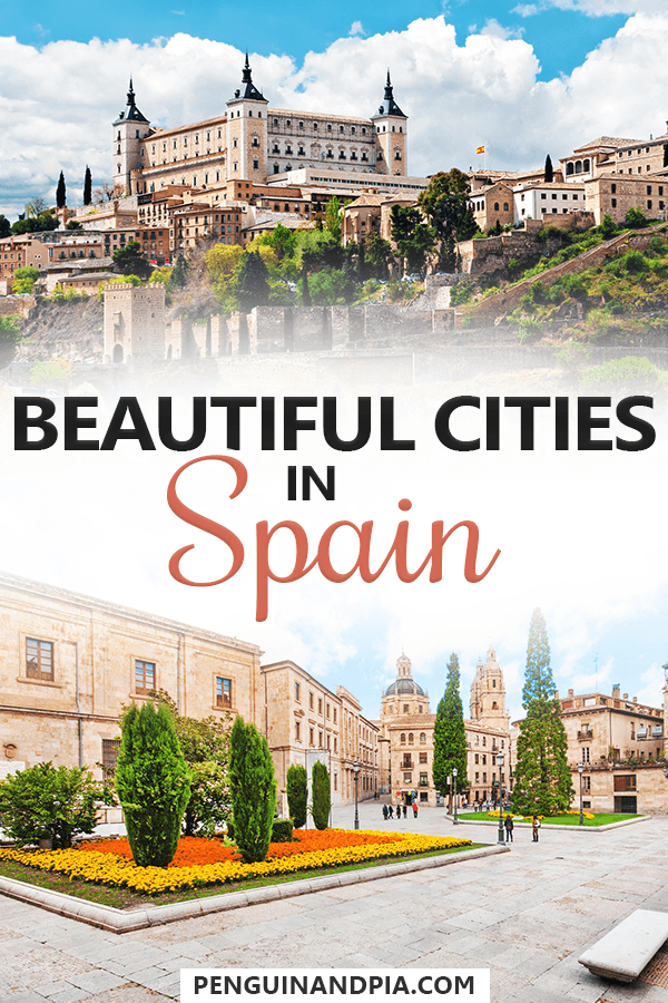 Beautiful cities in Spain