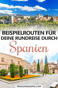 Spanien Rundreise