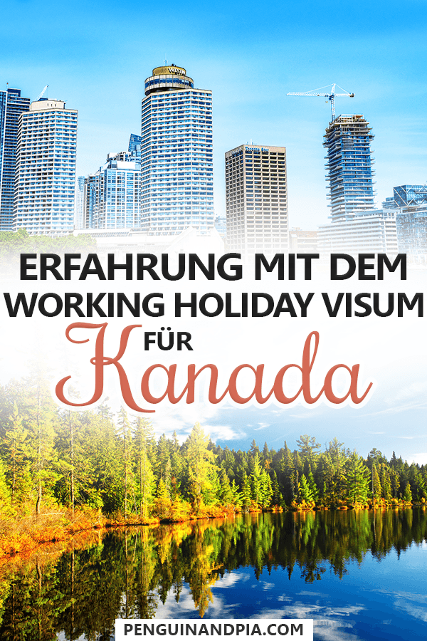 Working Holiday Visum Kanada