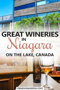 Wineries in Niagara on the Lake Canada