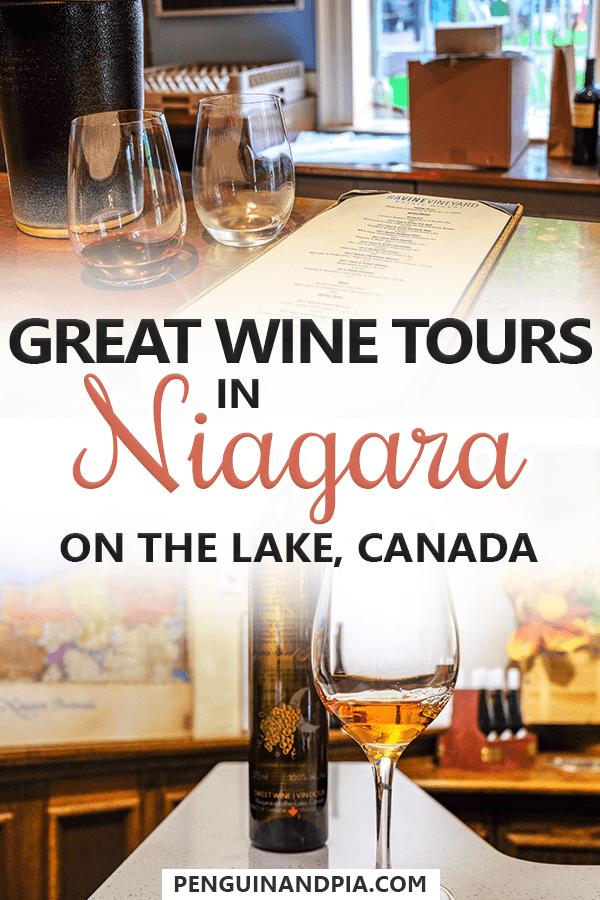 Wine tours in Niagara on the Lake Canada