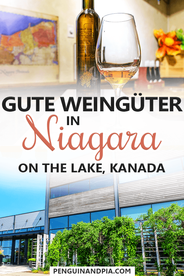 Gute Weingüter in Niagara on the Lake Kanada