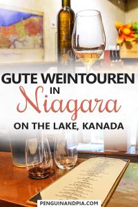 Weintouren in Niagara on the Lake Kanada