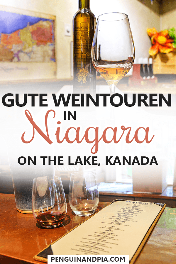 Weintouren in Niagara on the Lake Kanada