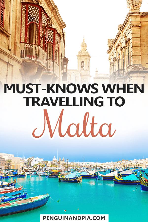 Travelling to Malta