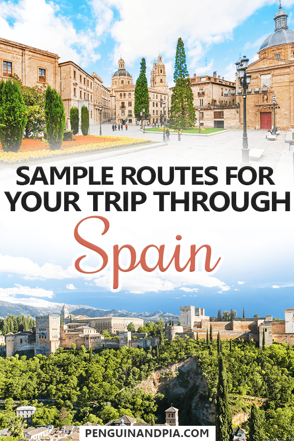 5 14 Day Spain Itinerary A Guide For Planning Your Perfect