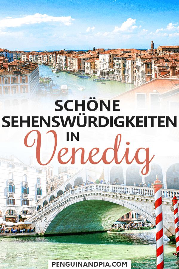 Sehenswürdigkeiten in Venedig Pin