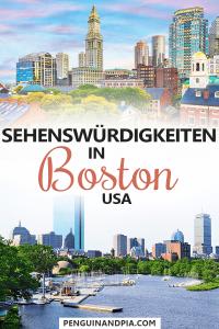 Sehenswürdigkeiten in Boston