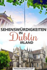 Sehenswürdigkeiten in Dublin Irland