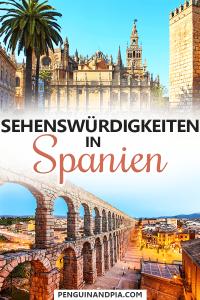 Sehenswürdigkeiten in Spanien