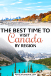 Best time to visit Canada
