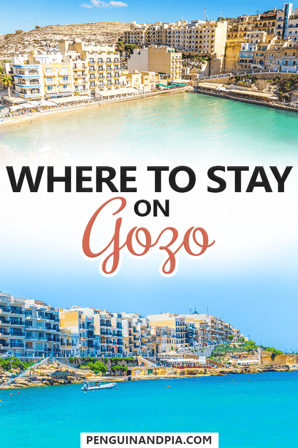 Where to stay on Gozo