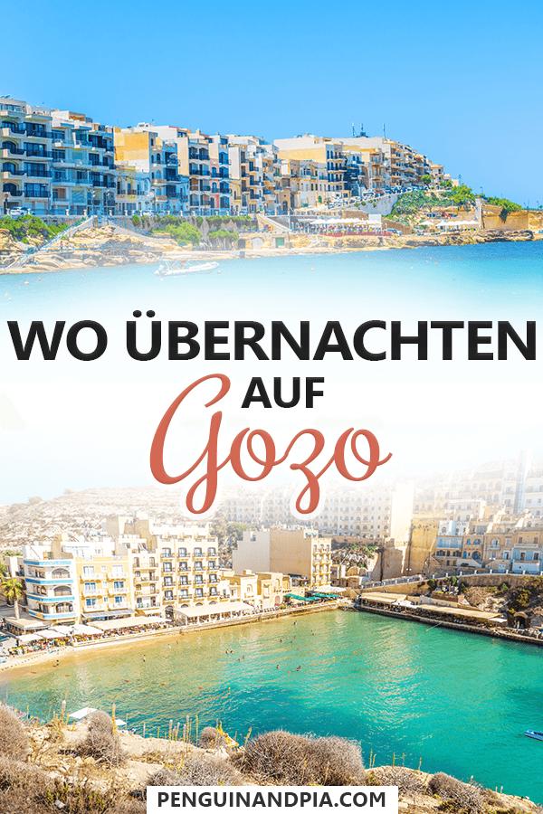 Wo übernachten auf Gozo