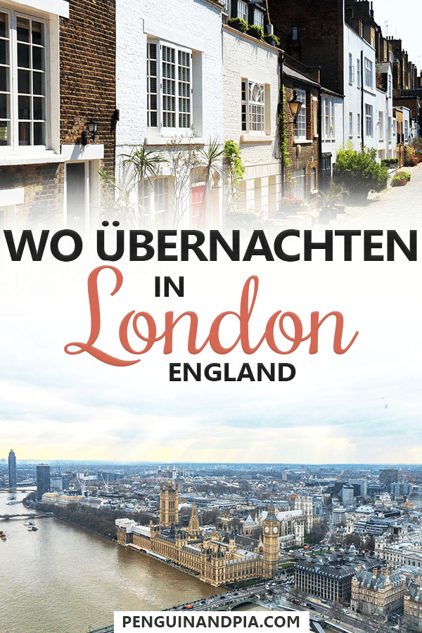 Wo übernachten in London