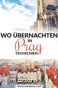 Wo übernachten in Prag