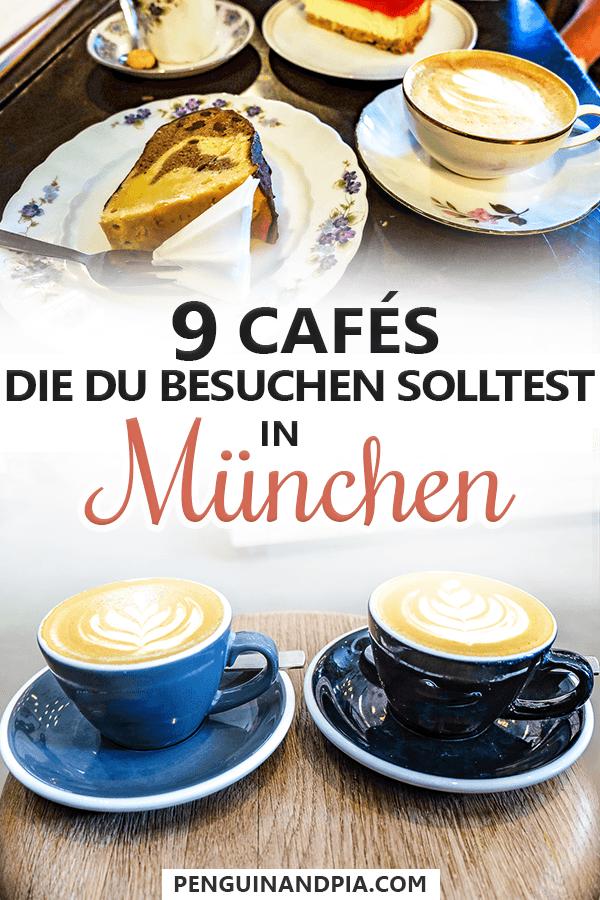 Schöne Cafés in München