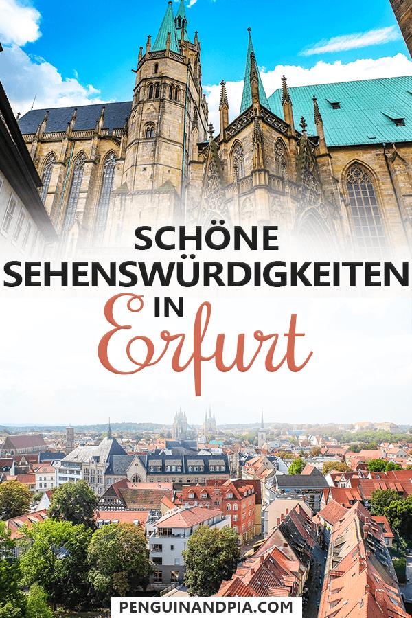 Sehenswürdigkeiten in Erfurt Pin
