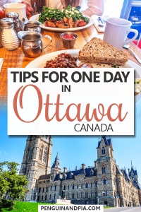 Tips for one day in Ottawa