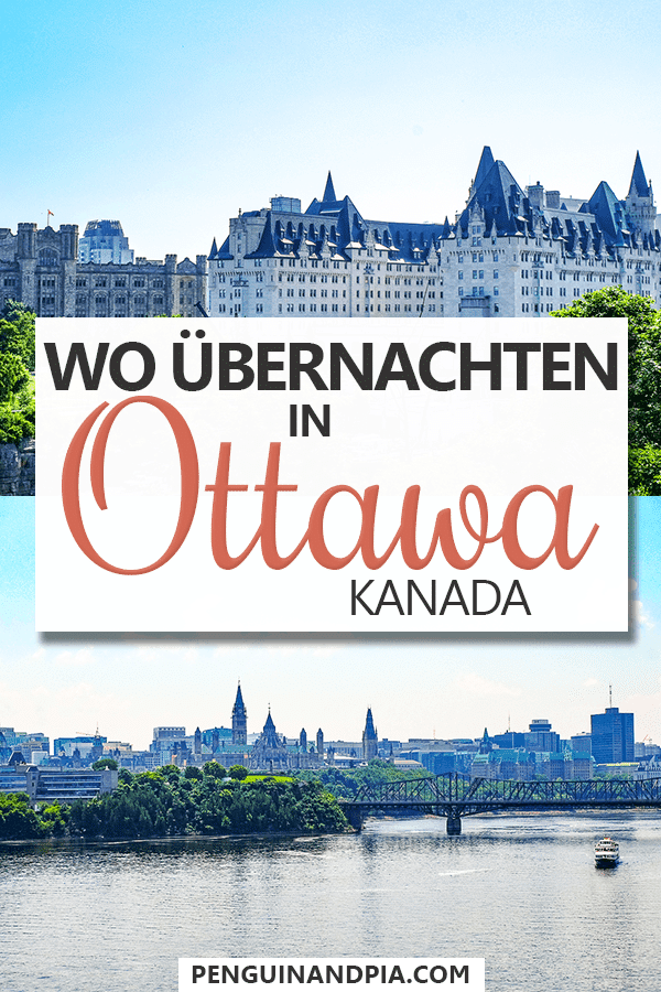 Wo übernachten in Ottawa