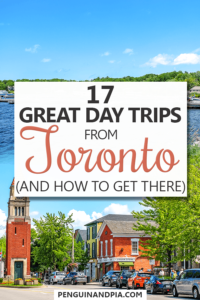 Day Trips from Toronto Pin
