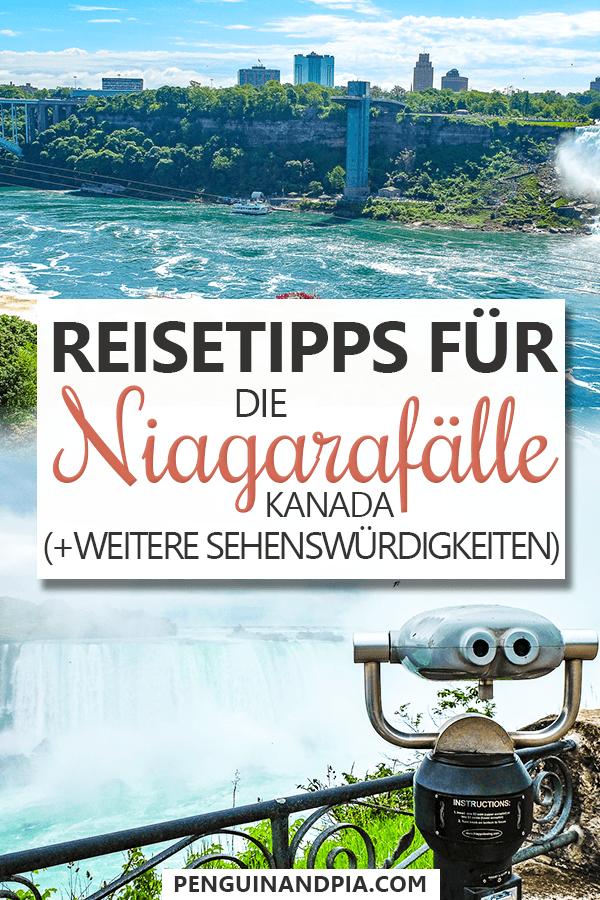 Reisetipps für die Niagarafälle Kanada Pin