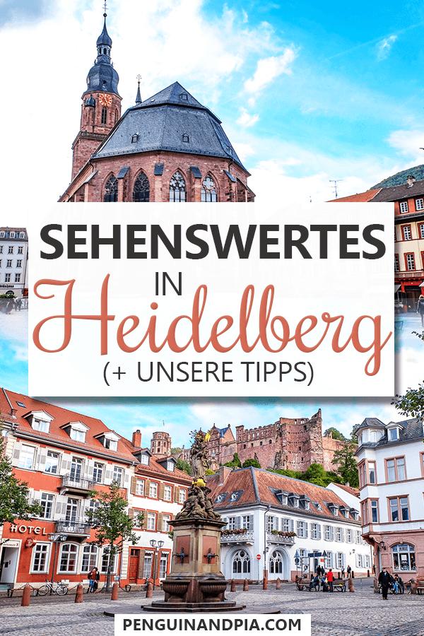Sehenswürdigkeiten in Heidelberg Pin
