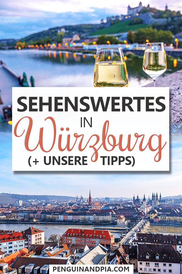 Sehenswürdigkeiten in Würzburg Pin