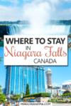 Where to stay in Niagara Falls Pin